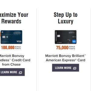 Amex Marriott Brilliantのお得な 300ドルホテルクレジット