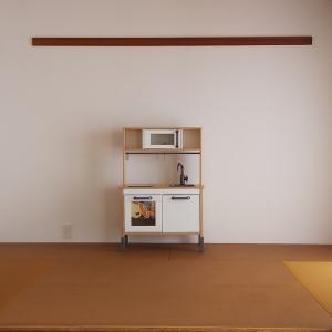 新しいキッチン。