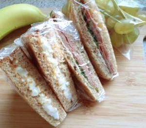 次男観戦6:涙のサンドイッチ