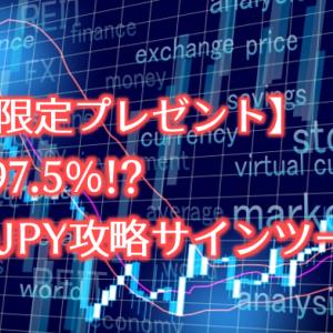 【期間限定プレゼント】勝率97.5%!?NZDJPY攻略サインツール