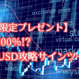 【期間限定プレゼント】勝率100%!?ユーロドル攻略サインツール