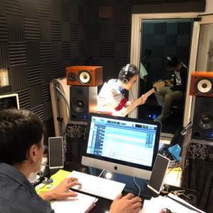 あの日と同じメンバーでのレコーディング