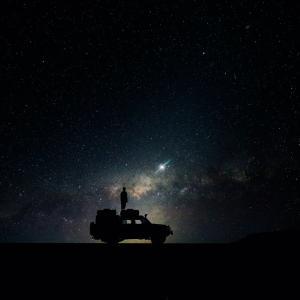 暗闇があるからこそ星が見える