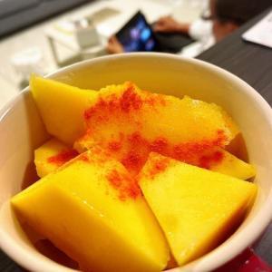 メキシカンスタイル♪マンゴーの食べ方