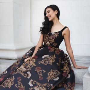 【バレエ】ゴージャスなドレスのような?レオタード