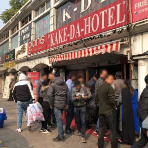 CPにあるノンベジ KAKE-DA-HOTEL