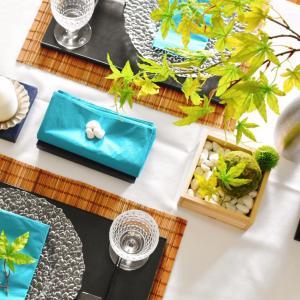 テーブルコーディネートのためのダイニングテーブル選び