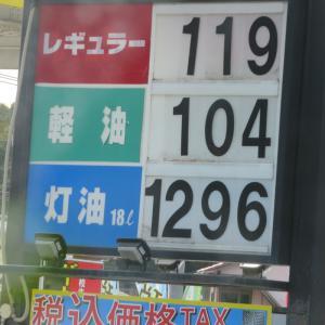 ガソリンが安くなった!
