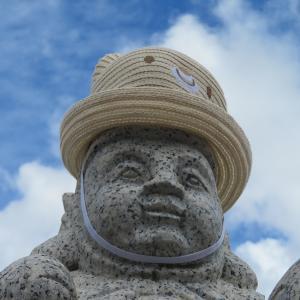えびすさんも帽子を被っていらっしゃいました!