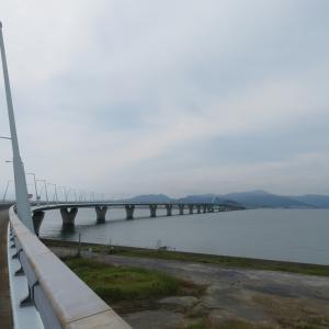 北九州空港連絡橋!サイクリングにGOOD!