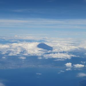 南部鉄器マン・2019年8月13日の富士山