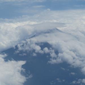 南部鉄器マン・2019年8月20日 13時の富士山