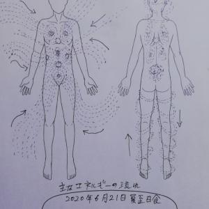 【所感レポート(2)肉体面】三つ巴新月一斉無料遠隔レイキヒーリング