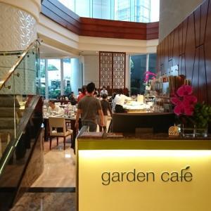 コンラッド香港:子連れ朝食@ガーデンカフェ