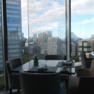 ペニンシュラ東京:24階Peterで子連れ朝食。おしゃれで天気が良ければ景色も最高