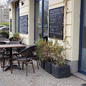 カフェの植木が……!!