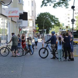 6月初旬の自転車屋さん