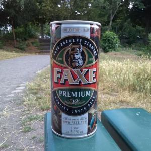 1Lの缶ビール