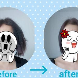 約1年ぶりの縮毛矯正と髪の毛事情