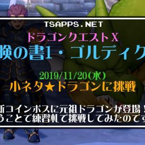 ドラクエ10日記・新コインボス「ドラゴン」に挑戦!コテンパンに…☆『ドラゴンクエストX 冒険の書1 ゴルディクス』