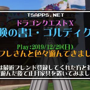 ドラクエ10日記・新フレさんと遊んだりチムクエや討伐も連続プレイ☆『ドラゴンクエストX 冒険の書1 ゴルディクス』