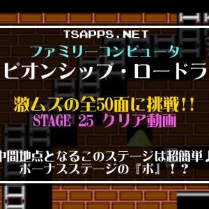 チャンピオンシップ・ロードランナー攻略(25)『ボ』ーナスステージ☆『ファミコンゲーム プレイ動画』