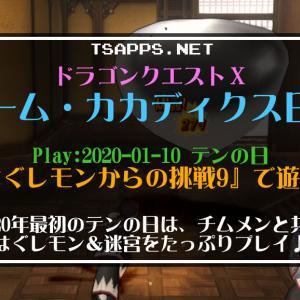 ドラクエ10日記・チムメン2人を加えてはぐレモンからの挑戦9を攻略☆『ドラゴンクエストX チームカカディクス日記』