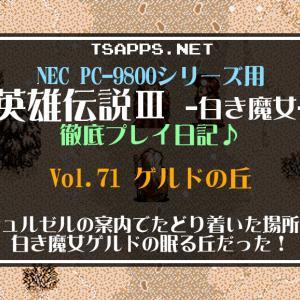 白き魔女PC-98版攻略(71)涙なしでは見られない白き魔女ゲルドの真実☆『英雄伝説3 白き魔女 徹底プレイ日記』