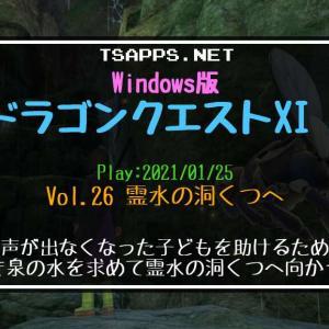 ドラクエ11S(26)霊水の洞くつにある清き泉へ!さえずりのみつを作る☆『Windows版ドラゴンクエストXI S 攻略プレイ日記』