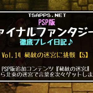 PSP版FF2攻略(14)秘紋の迷宮・北東【1】地下水路&洞窟の迷宮に挑戦☆『PSP版ファイナルファンタジー2 徹底プレイ日記』