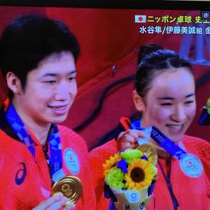 卓球界 初の金メダル