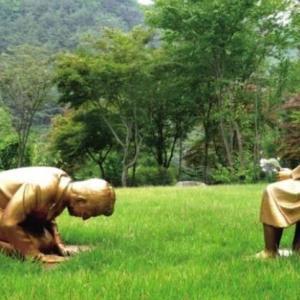 【韓国】日本人は永遠に謝罪しろ→土下座する銅像が新たに誕生www