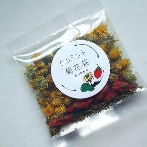 【薬膳茶〜クコミント菊花茶〜】
