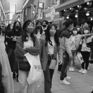去年、今頃の大須商店街
