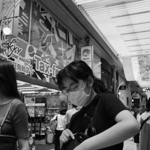 去年、今頃の大須商店*