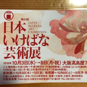 『第51回 日本いけばな芸術展』に行ってきました