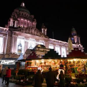 ダブリンから2時間!クリスマスマーケットはベルファストへ!