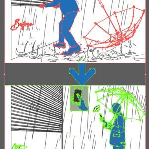 イラスト シルエット(silhouette)8
