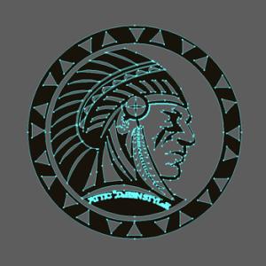 オルテガ柄 インディアンデザインTシャツ(Native American)