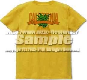 """パイナップル Tシャツ(Pineapple """"California"""")"""