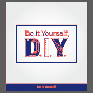 D.I.Y ロゴ(Do it Yourself)