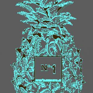 パイナップル No1 Tシャツ(Pineapple No.1)