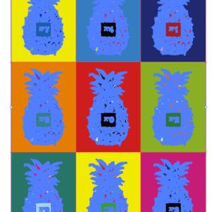 パイナップル クレイジーカラー(Pineapple Crazy Color)
