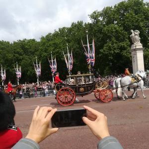 イギリス④ エリザベス女王は今日が誕生日
