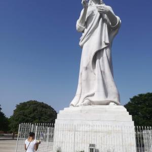 キューバ⑤ 白い服の聖なるキリスト
