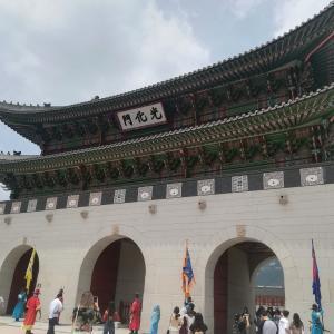 韓国② Wi-Fi大国・韓国の宮殿郡