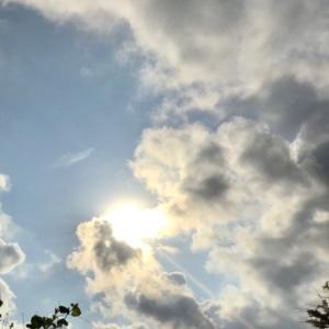 空の色が変わった?~♡~9月1日