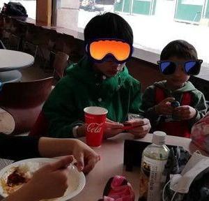 春スキーへ。