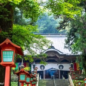 出流山 満願寺を散策