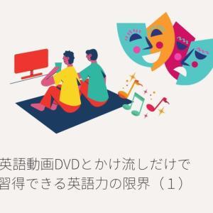 英語動画とかけ流しだけで習得できる英語力の限界(1)